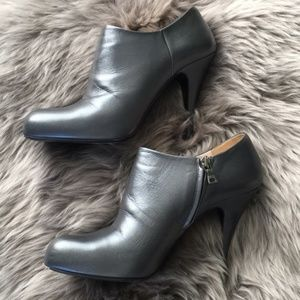 PRADA Leather Ankle Booties!! Size 8